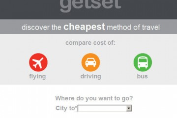 GetSet - Travel App (screenshot)