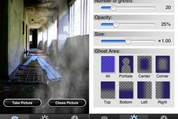 GhostCam iPhone Application