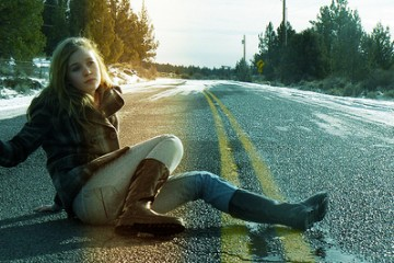 Hitchhiking Girl