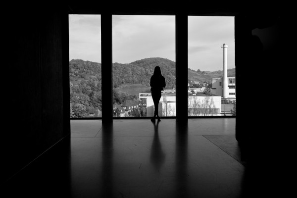 Girl Waiting in a Window