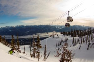 Gondola on the Powder Highway, British Columbia, Canada