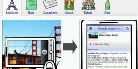 Google Goggles - Augmented Reality