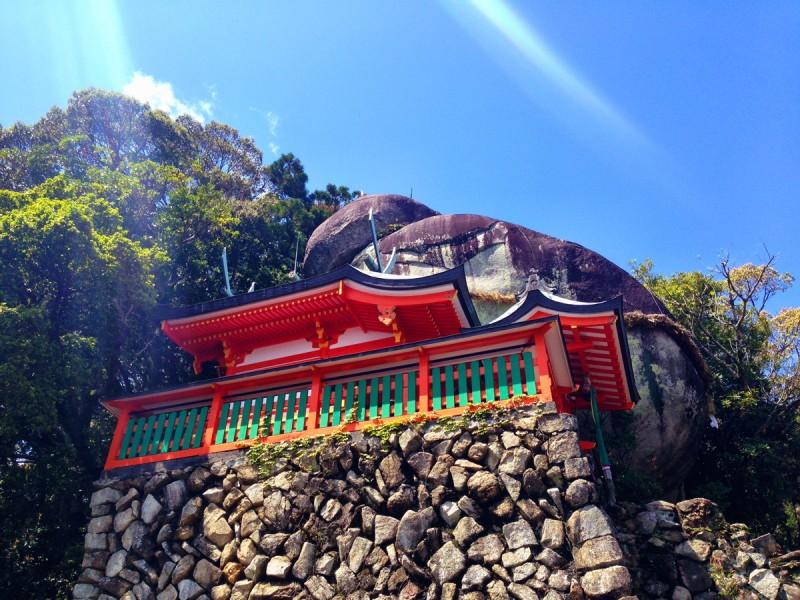 Gotobiki Iwa, Japan