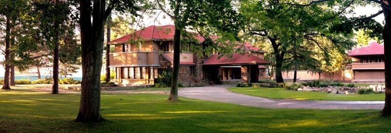 Frank Lloyd Wright's Graycliff Estate Near Buffalo, New York