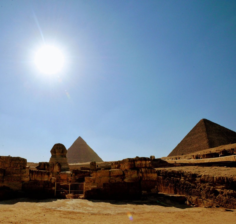 The Giza Complex — Sphinx and the Pyramids