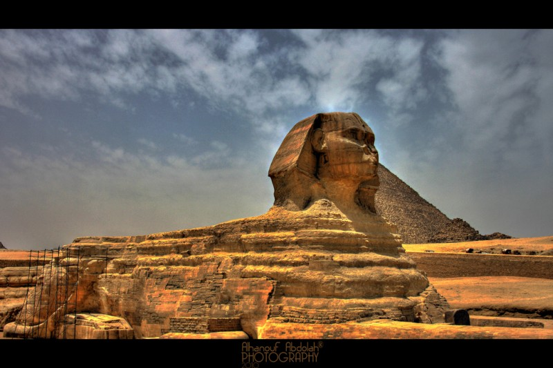 The Great Sphinx of Giza, Egypt