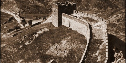 Great Wall of China in 1907