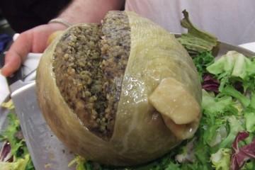 Haggis (closeup)
