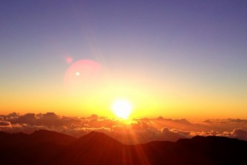 "Sunrise Atop Haleakala (""House of the Sun""), Maui, Hawaii"
