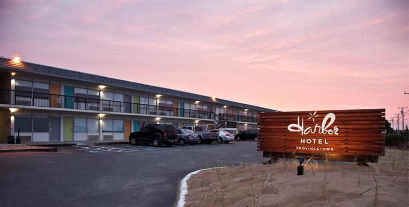 Harbor Hotel Provincetown, Cape Cod, Massachusetts (exterior)