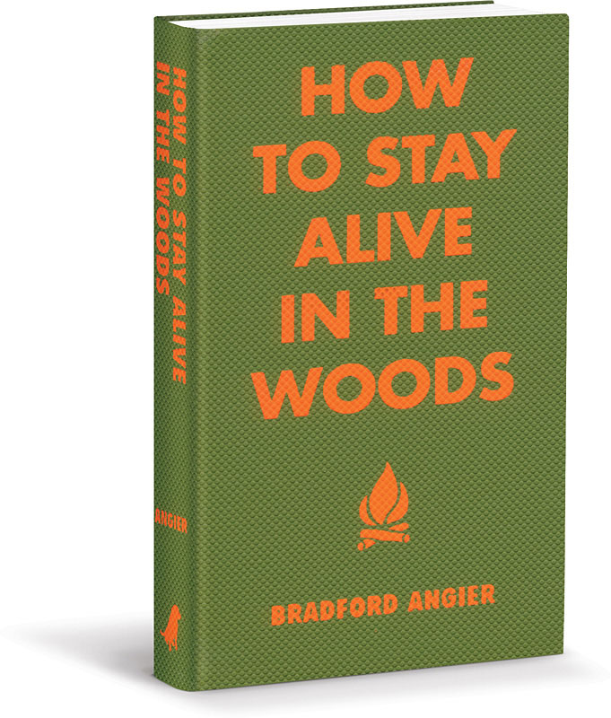 How to Stay Alive in the Woods (book cover)