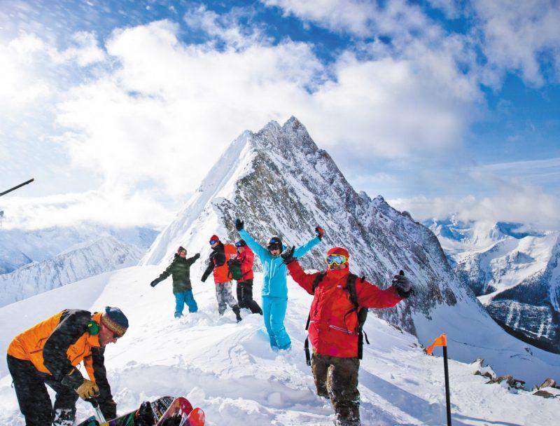 Heli-Skiing Panorama Ski Resort in British Columbia, Canada