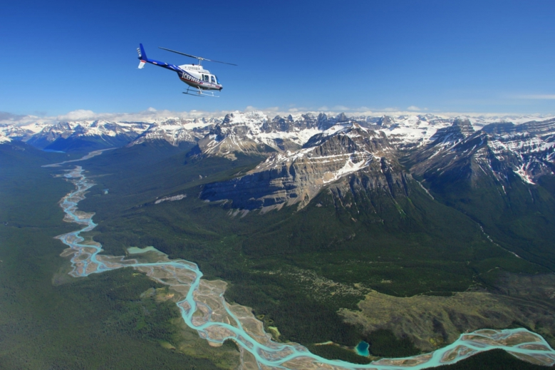 Helicopter Tour Over the Canadian Rockies (near Calgary)