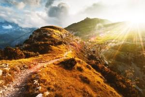 Hiking the Alps, Switzerland