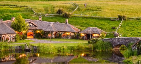 Hobbiton Movie Set, New Zealand