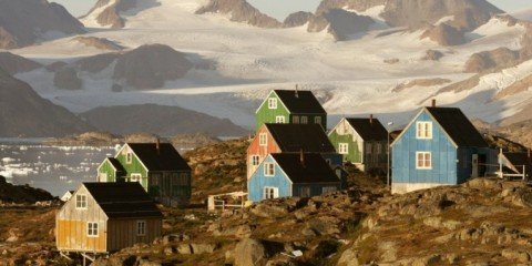 Hillside Homes of Kulusuk, Greenland