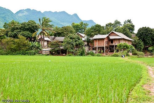 Homestay in Mai Chau, Vietnam