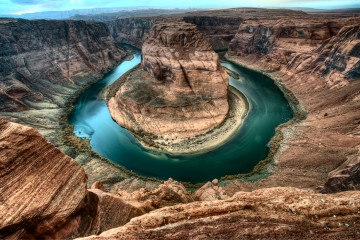 Horseshoe Bend in Glen Canyon, Arizona