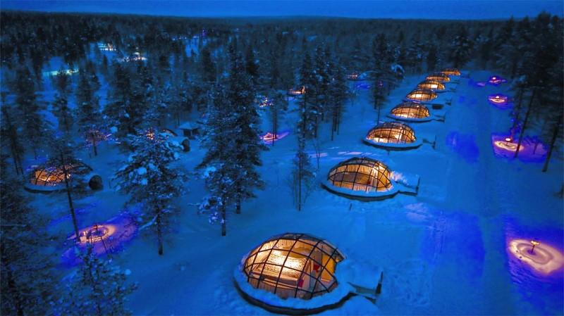 Hotel Kakslauttanen in Finland