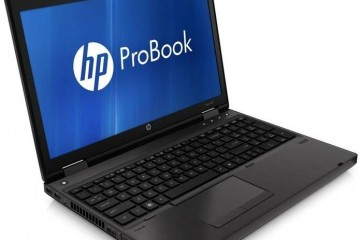 Front view of HP PowerBook 6360b notebook/laptop