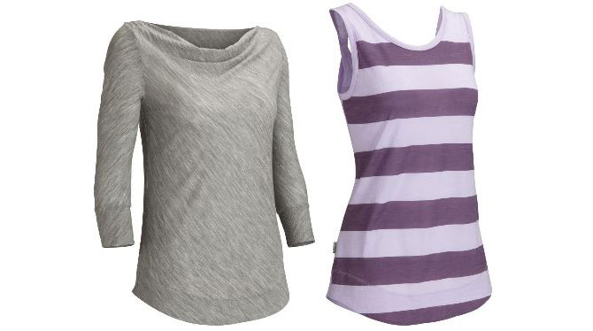 Icebreaker unveils new women 39 s activewear travel for Merino wool shirt womens
