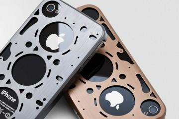 """idAmerica's """"Gasket"""" Aluminum iPhone Case"""