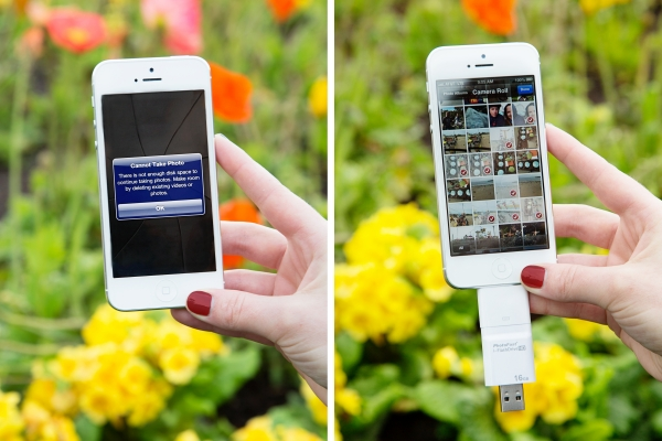 The iFlash: A USB Drive for Your Phone and Mac/PC — Vagabondish