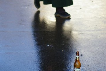 Ignored Beer Bottle, Moscow