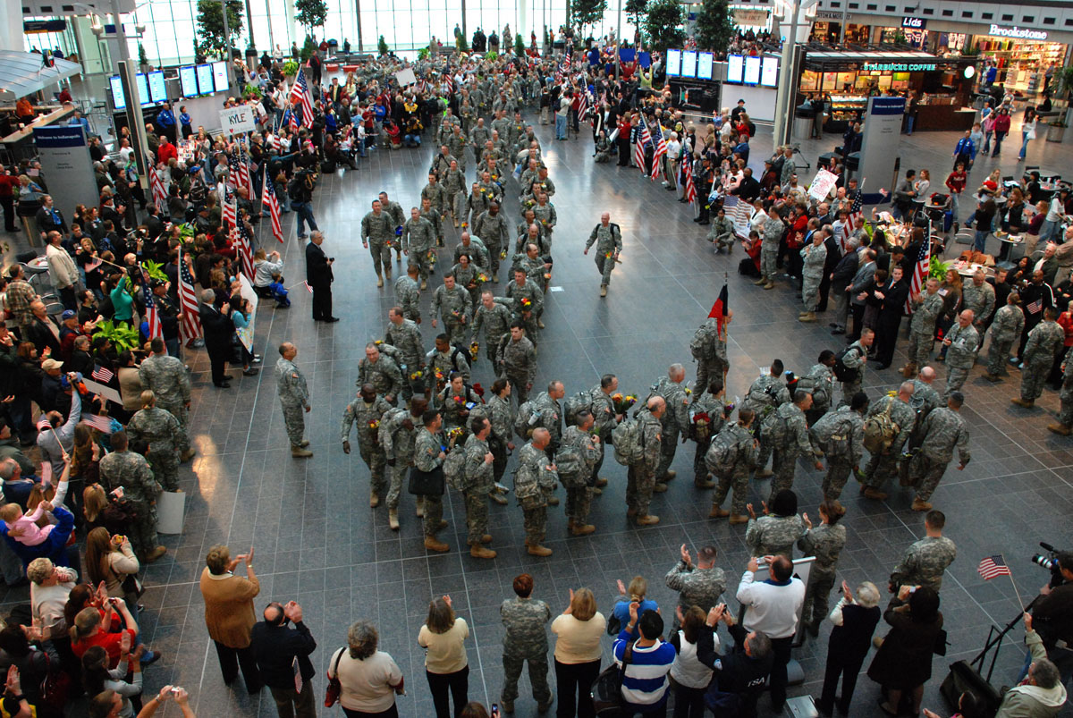 Indiana Army National Guard at Indianapolis Airport