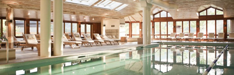 Indoor Pool at Topnotch Resort & Spa, Stowe, Vermont