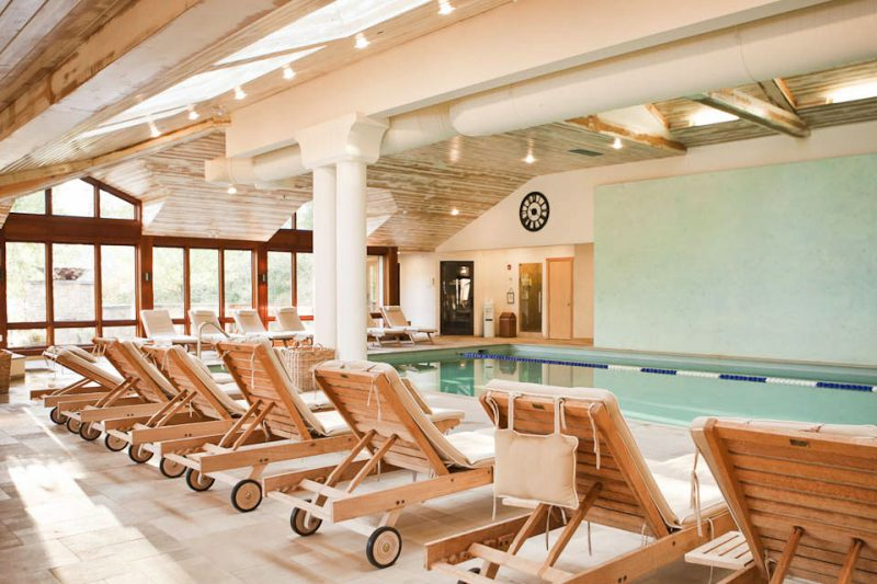 Indoor Pool at Topnotch Resort & Spa in Stowe