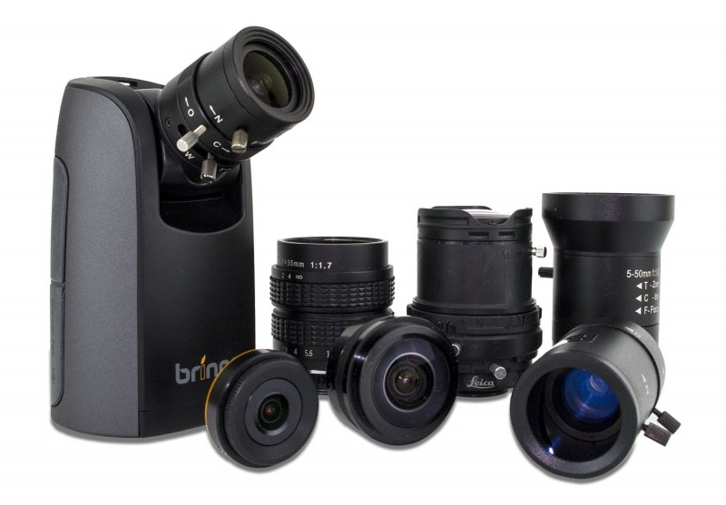 Interchangeable Lenses for Brinno's TLC200 Pro HDR Time-lapse Camera