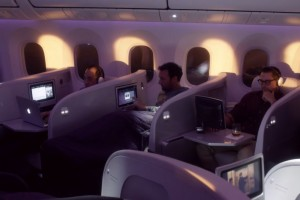 Air New Zealand's Dreamliner 787-9 Airplane (interior)