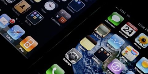 iPhones Closeup
