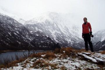 Jill Homer Biking Alaska's Iditarod