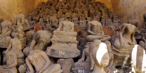 Broken Buddhas by Jody Morris