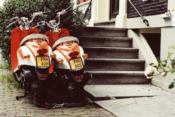 Motorcycles in Holland