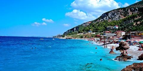 Jonufer Beach in Vlore, Albania