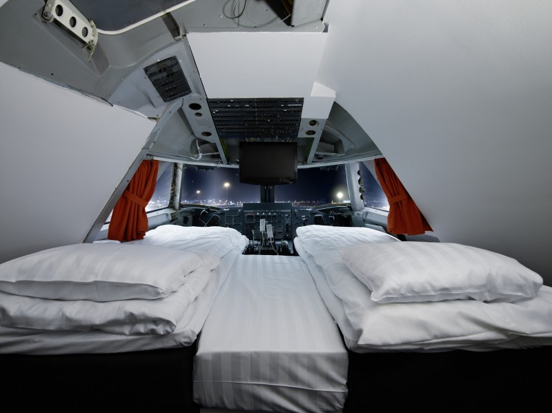 Jumbo Stay Hostel, Sweden (cockpit suite)