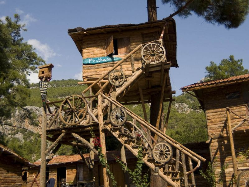 Kadirs Treehouses Hostel, Turkey