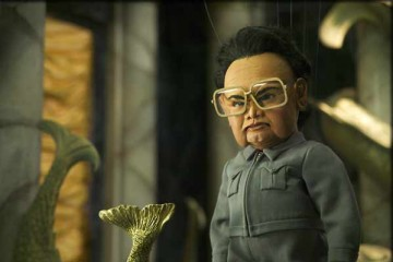 "Kim Jong Il in ""Team America"" movie"