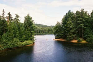 Le Fleuve in La Mauricie National Park, Quebec, Canada
