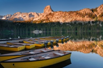 Lake Mary, Mammoth Mountains