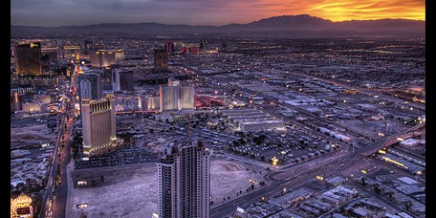 View from the Stratosphere, Las Vegas