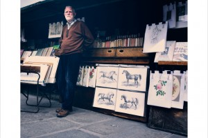 Le Bouquiniste in Paris, France