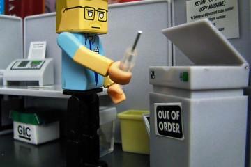 Lego Office Copier Technician