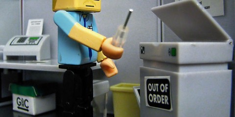 Lego Office Copier Technician