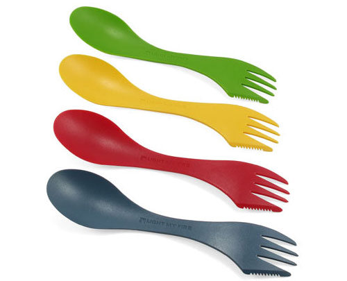 Light My Fire Spork (multicolor 4-pack)