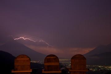 Lightning Over Antigua, Guatemala