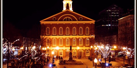 By the Lights of Faneuil Hall, Boston